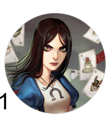 Spille 38mm - Alice Madness...
